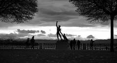 ZÜRICH (irene_ceccacci) Tags: zürich lungolago trip nikon nikond3000 nikonphotography 35mm 1855mm friend clouds blackandwhite