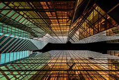 Hong Kong 23 (kruser1947 (all killer no filler)) Tags: abstract architecture geometric hongkong skyscraper hdr