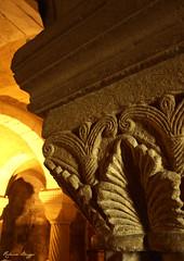 Medieval pillar (DameBoudicca) Tags: sweden sverige schweden suecia sude svezia  dalby medeltiden middleages medioevo medieval edadmedia moyenge mittelalter  church kirche kyrka glise chiesa iglesia  romanesque romansk romanik romnica romane romanica  pillar pelare column sule colonna colonne columna kolonn