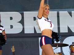 IMG_6878 (grooverman) Tags: houston texans cheerleaders nfl football game nrg stadium texas 2016 budweiser plaza nice sexy legs stomach canon powershot sx530