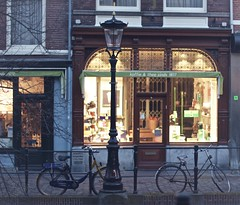 Old fashion (sonia.sanre) Tags: classic style utrecht city cafeteria bicis bikes old oldfashion vintage shop coffee koffie
