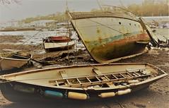 Penryn Quay, Cornwall, (cazzycoffeegirl) Tags: wreck quay penryn