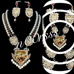 Kundan Mala set (aandrfashionhouse) Tags: desibride indiafashion pakistanifashion desibrides brides jewellery asiana