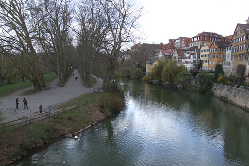 Neckar Island and Old Town, 08.04.2012.
