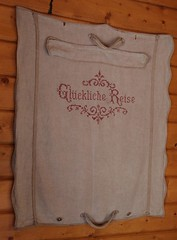 (:Linda:) Tags: germany thuringia village bürden handmade embroidery bag cabin