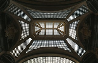 Turin: Galleria San Frederico, roof