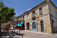 Astudillo (Palencia). Plaza Mayor. Palacio de los marqueses de Camarasa (santi abella) Tags: españa palencia castillayleón astudillo