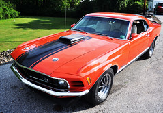 """1970 Ford Mustang Mach 1 • <a style=""""font-size:0.8em;"""" href=""""http://www.flickr.com/photos/85572005@N00/20697678562/"""" target=""""_blank"""">View on Flickr</a>"""