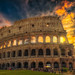 A Gladiators Dream. Colosseum, Rome.