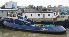 Speedwell + Bruce Stone (6) @ KGV Lock 09-09-15 (AJBC_1) Tags: uk england london boat ship unitedkingdom houseboat vessel tugboat tug speedwell nikond3200 northwoolwich newham royaldocks londonboroughofnewham brucestone kgvlock dlrblog londonsroyaldocks ajc kinggeorgevlock