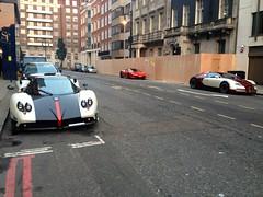 Pagani Zonda Roadster Cinque (3 of 5) Bugatti Veyron Ferrari 458 Italia (mangopulp2008) Tags: 3 italia 5 ferrari bugatti cinque zonda veyron roadster pagani 458 45parklane paganizondacinque3of5