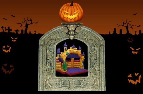 Knights Castle bouncy castle