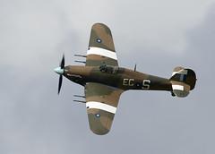 Hurricane (Bernie Condon) Tags: plane flying aircraft aviation military hurricane ww2 preserved goodwood raf hawker revival bbmf viontage