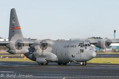 21451 Lockheed CC-130 Hercules US Airforce Prestwick airport EGPK 12.10-15 (rjonsen) Tags: airport airforce hercules prestwick egpk
