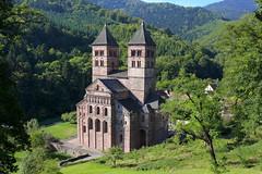 Murbach (denismartin) Tags: city mountain church abbey architecture monastery valley alsace benedictine vosges hautrhin grandballon romanesquearchitecture artroman housesofworship murbach denismartin southernalsace