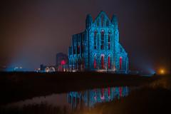 045-Edit (Bev Cappleman) Tags: abbey reflections illuminated whitby whitbyabbey