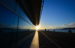 Symmetry Sunset (Yohsuke_NIKON_Japan) Tags: sunset lake nature dusk symmetry shimane nano    matsue sanin lakeshinji d600    1635mm