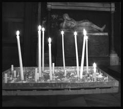 St Germaine de Pres; Paris (hamsiksa) Tags: paris candles gothic churches romanesque tombs votives stgermainedepres actsoffaith