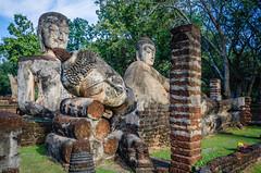 Khampaengphet Historical Park (Goran Bangkok) Tags: park history thailand temple religion buddhism historical wat phrakaew khampaengpet