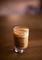 Cortado at 1.2 (JayMischief) Tags: new york city fall coffee les canon photography 50mm cafe mark side east ii 5d 12 lower caffeine ost cortado 12l uork cordadito cortadoto
