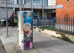 STREET ART AT 38 MARY'S LANE [DUBLIN CANVAS PAINT A BOX PROJECT BOX-TSB4M]-110169