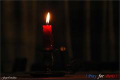 Pray for Paris (Guijo Córdoba fotografía) Tags: pray rezar vela candle paris francia guijocordoba nikond70s atentado attempt terrorismo terrorism france prayforparis atentadosparis theperfectphotographer
