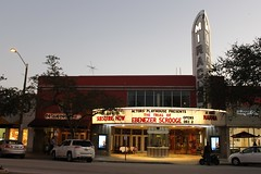 Miracle Theater Coral Gables 1948 (Phillip Pessar) Tags: cinema building 1948 coral architecture theater miracle gables