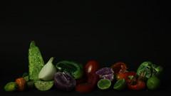 9 (Seel VP) Tags: verduras vegetables glitter mxico canon 50mm veggies vegetales 2015 purpurina brillantina