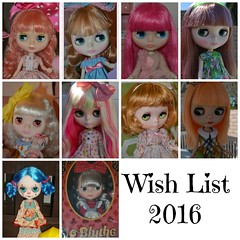 Dolly Wish List 2016