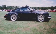 TIPEC @ Elvaston Castle 2006 Porsche 911 4 (ukdaykev) Tags: show black classic car classiccar transport 911 2006 porsche coupe carshow porsche911 964 elvastoncastle porsche964 tipec classictransport etabetakrone