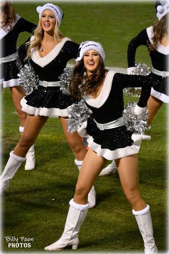 2015 Oakland Raiderettes Jen & Abby