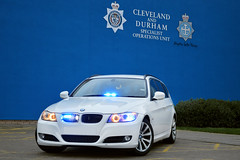 Unmarked Collision Investigation Unit (S11 AUN) Tags: car video estate durham traffic police bmw vehicle roads emergency collision unit equipped 999 3series investigation unmarked rpu constabulary policing ciu 330d anpr 61reg