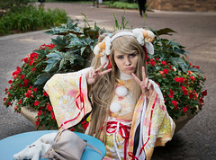 Kotori-5 (YGKphoto) Tags: anime convention cosplay costume kotori lovelive metacon minneapolis minnesota downtown sheep videogames
