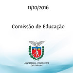 Reuni�o da Comiss�o de Educa��o 11/10/2016