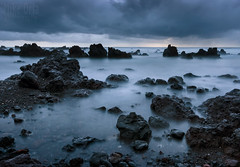 Laupahoehoe Beach (Explore #58) (mikeSF_) Tags: hawaii hawaiianislands island bigisland laupahoehoe point beach rocks lava aa mroning storm rain cloudy clouds outdoor sunrise sunset twilight bluehour dfa1530 k3 k3ii pentax wwwmikeoriacom