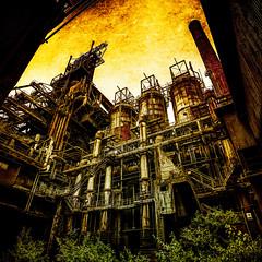 Blast Furnace HFB (Batram) Tags: stahlwerk blast furnace hfb hdr urbex