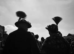 Bavarian silhouettes (Erwin Vindl) Tags: bavariansilhouettes streetphotography streettogs candid silhouettes blackandwhite bw monochrome oktoberfest wiesn munich bavaria olympusomd em10markii erwinvindl