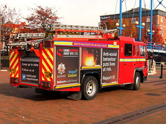 GMFRS at Salford Quays (4) (marbowd37) Tags: gmfrs salfordquays salford