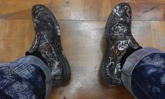 (sjoerdgroneschild) Tags: shoes fashion art illustration nature brick brown highlight footwear creative color pattern paint