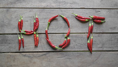 Chilli peppers on wooden background forming word hot (RaleBelic) Tags: agricultural agriculture asian background cayenne chile chili chilli chilly chily closeup color colorful condiment cooking dried flavor food frame fresh freshness full harvest healthy heap hot indian ingredient kitchen mexican mexico natural organic peppers picked pile raw red ripe rural seasonal seasoning spice spicy texture thai vegetable vegetarian wood wooden sign letter