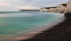 Beautiful Turquoise Water (robertoverton1) Tags: longexposure longexposurephotography landscape coast southeast southcoast pebbles canon contrast beautiful silky neutraldensity nature sea sky water cliffs colour kent dramatic beach view serene outdoors