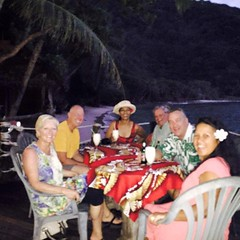 UMU dinner at Tisa's