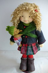 """LUCY  20"""" doll (Dearlittledoll) Tags: waldorf waldorfdoll dearlittledoll steinerdoll naturalfiberdoll naturaldoll handmadedoll"""