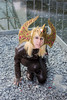 Crown of Barenziah - Skyrim cosplay (DrosselTira) Tags: vex tes elder scrolls v tesv 5 skyrim tes5 theif guild thieves master guildmaster armor armour leather dagger cosplay cosplayer costume outfit dress dragonborn crown barenziah gems gem no stone unturned stones jewel jewels quest mission