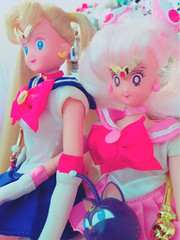 Sisters of the Moon (moonlightcoaster) Tags: sailor moon chibi chibiusa mini rini serena usagi irwin