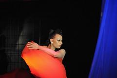 Jamina on Stage (Mental Octopus) Tags: safari sextheater hamburg germany reeperbahn striptease show showgirl stripper transsexual transman stage redlight redlightdistrict dancer nightclub gogo nightlife sexworker workingpoor socialissue