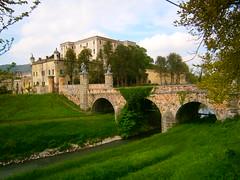 Battaglia Terme (Pd) (italyroberto) Tags: italy italia veneto battagliaterme castello castle architecture militare military medievale medieval ponte bridge