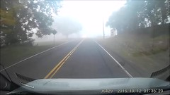 35 Seconds of Fog (blazer8696) Tags: 20161012073523 2016 t2016 ecw ct connecticut usa unitedstates video fog driving brookfield