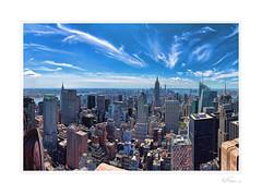 Hidden Chrysler Building (Kent Ferguson Photography) Tags: nyc skyscrapers manhattan empire state building chrysler