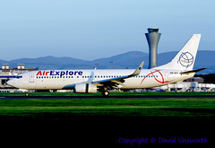OM-GEX (David Unsworth (davidu)) Tags: slovakia ed axe omgex airexplore boeing7378as boeing737800 boeing737 boeing b737 edi edinburgh davidunsworth daviduair aviation aircraft jet jetliner scotland airplane airliner